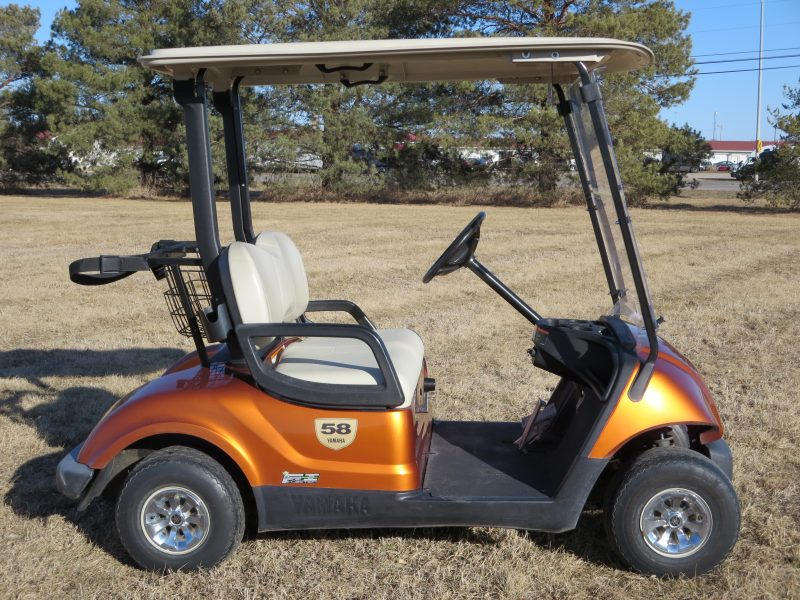 Yamaha Golf Cart - burnt orange