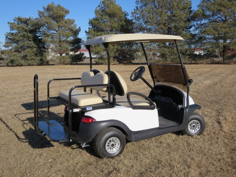 Yamaha Golf Cart - white