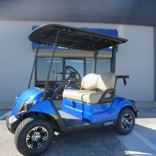 2021 Yamaha PTV Gas EFI QuieTech Golf Cart