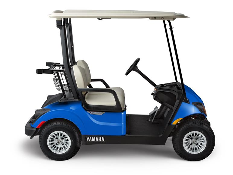 2018 Yamaha PTV Gas and Electric AC Golf Carts - AquaBlue