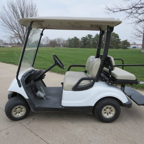 2008 Yamaha Drive Gas Golf Cart White