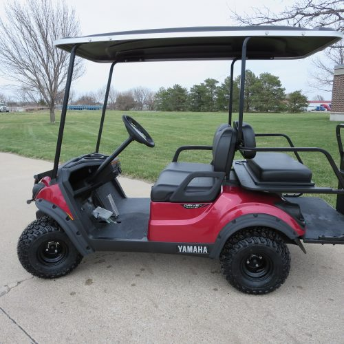 New 2018 Yamaha Adventure 2+2 Golf Cart