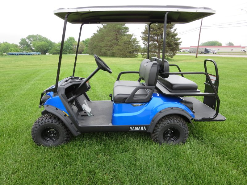 2018 Yamaha Royal Blue Golf Cart