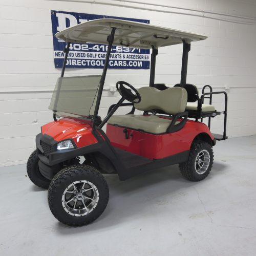 2013 Yamaha Drive Gas Golf Cart Torch Red
