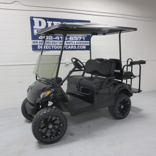 2013 Yamaha Drive Gas Golf Cart Onyx Black Metallic