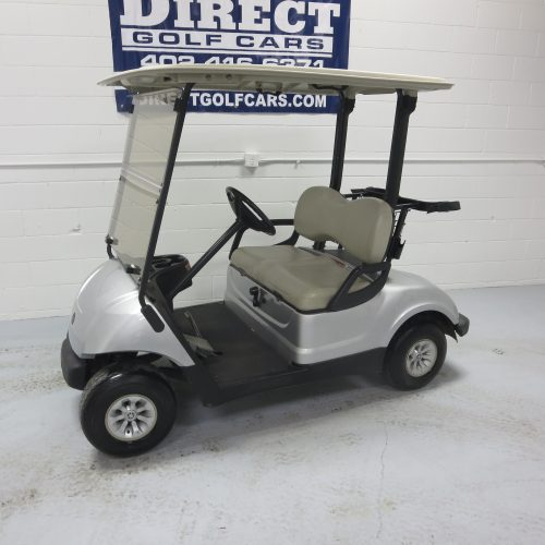 2015 Yamaha Drive Golf Cart Moonstone Silver