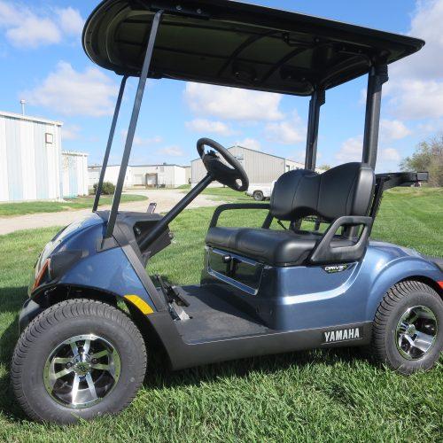 New 2019 Yamaha Drive2 PTV QuieTech EFI Golf Cart