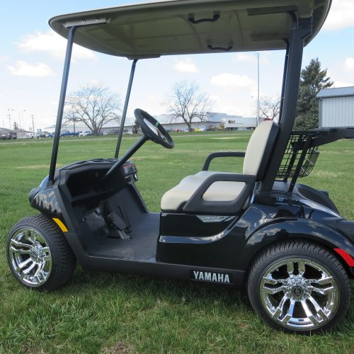 NEW 2019 Yamaha Drive2 PTV QuieTech EFI Golf Cart Black