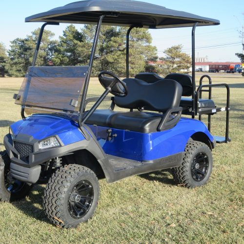 2013 Yamaha Drive Gas Golf Cart  Royal Blue