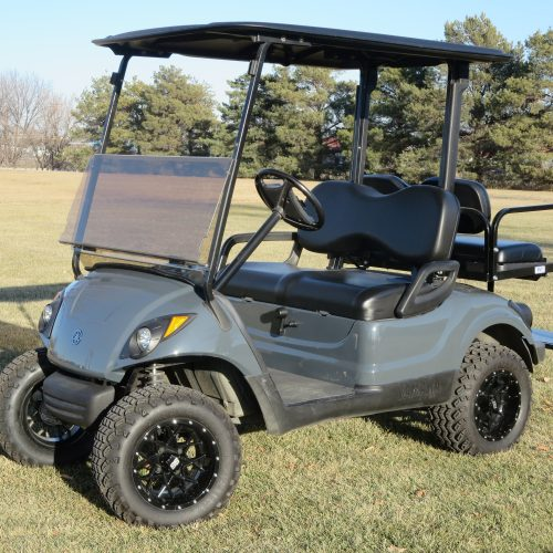 2014 Yamaha Drive Gas Golf Cart  Raptor Grey
