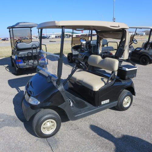 2011 EZGO RXV Electric Golf Cart Black