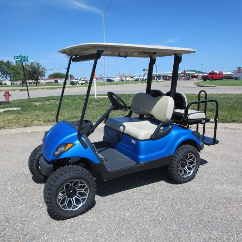 2016 EFI Yamaha Drive Satin Blue Golf Car