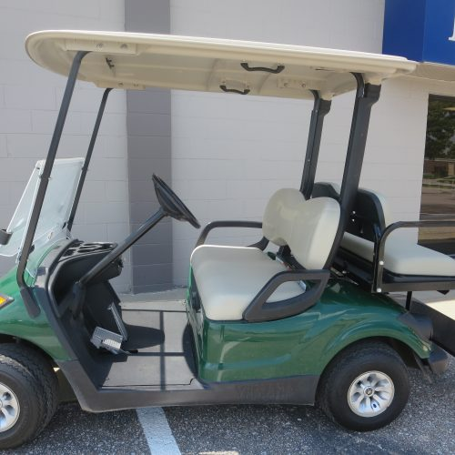 2016 Yamaha Drive Electric Golf Car – Emerald Green