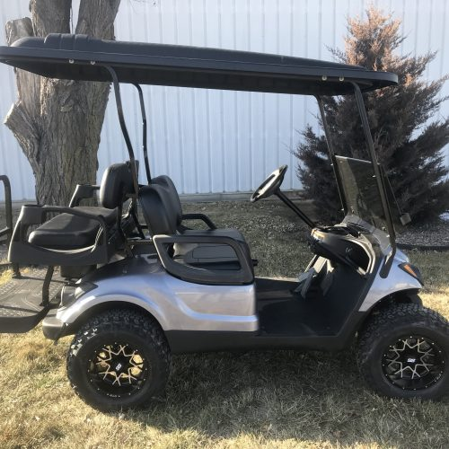 2014 Yamaha Drive G29 Charcoal Grey Gas Golf Cart