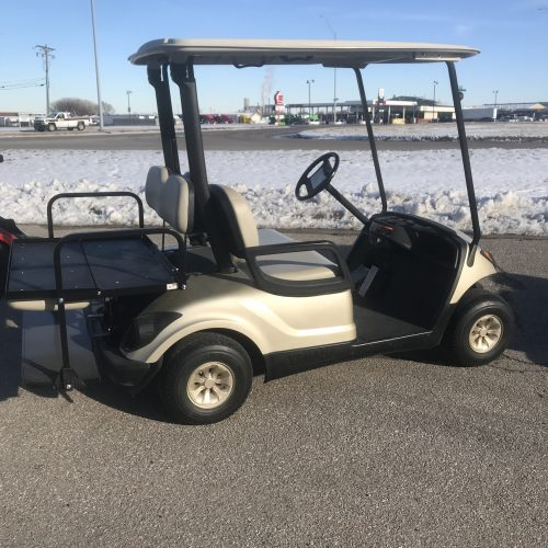 2011 Sandstone Metallic Gas Yamaha Drive Golf Cart