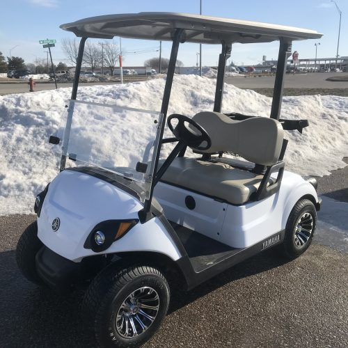 SOLD _ 2017 Yamaha Drive 2 Electric Golf Car